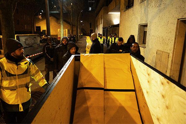 hätätilanteiden suojelu Pariisissa