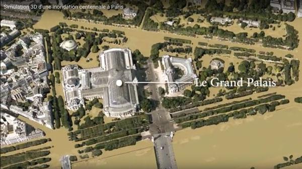 tulisimulointi Pariisissa