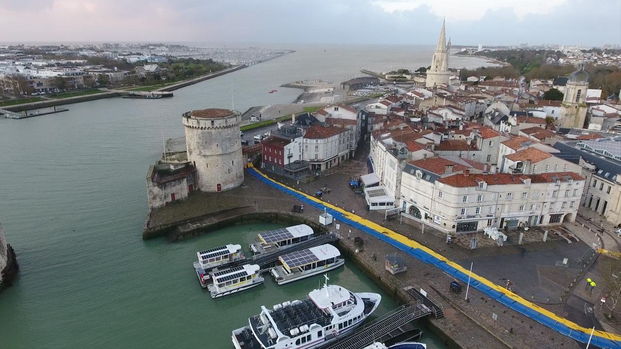Inondation port de la Rochelle